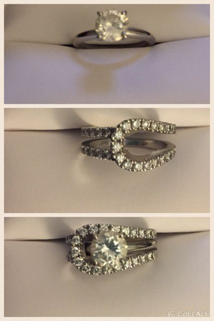 The rings of my dreams from the man of my dreams!