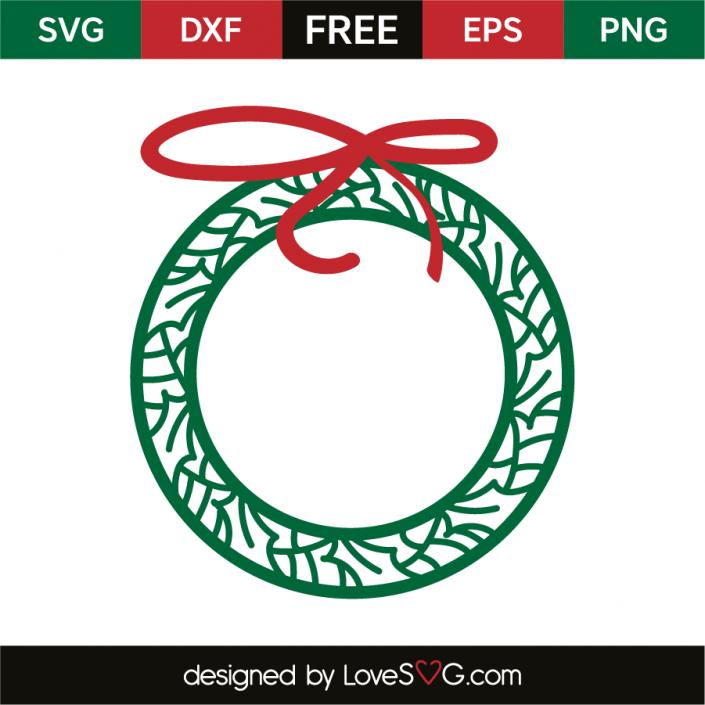 Christmas wreath Christmas wreaths, Christmas svg