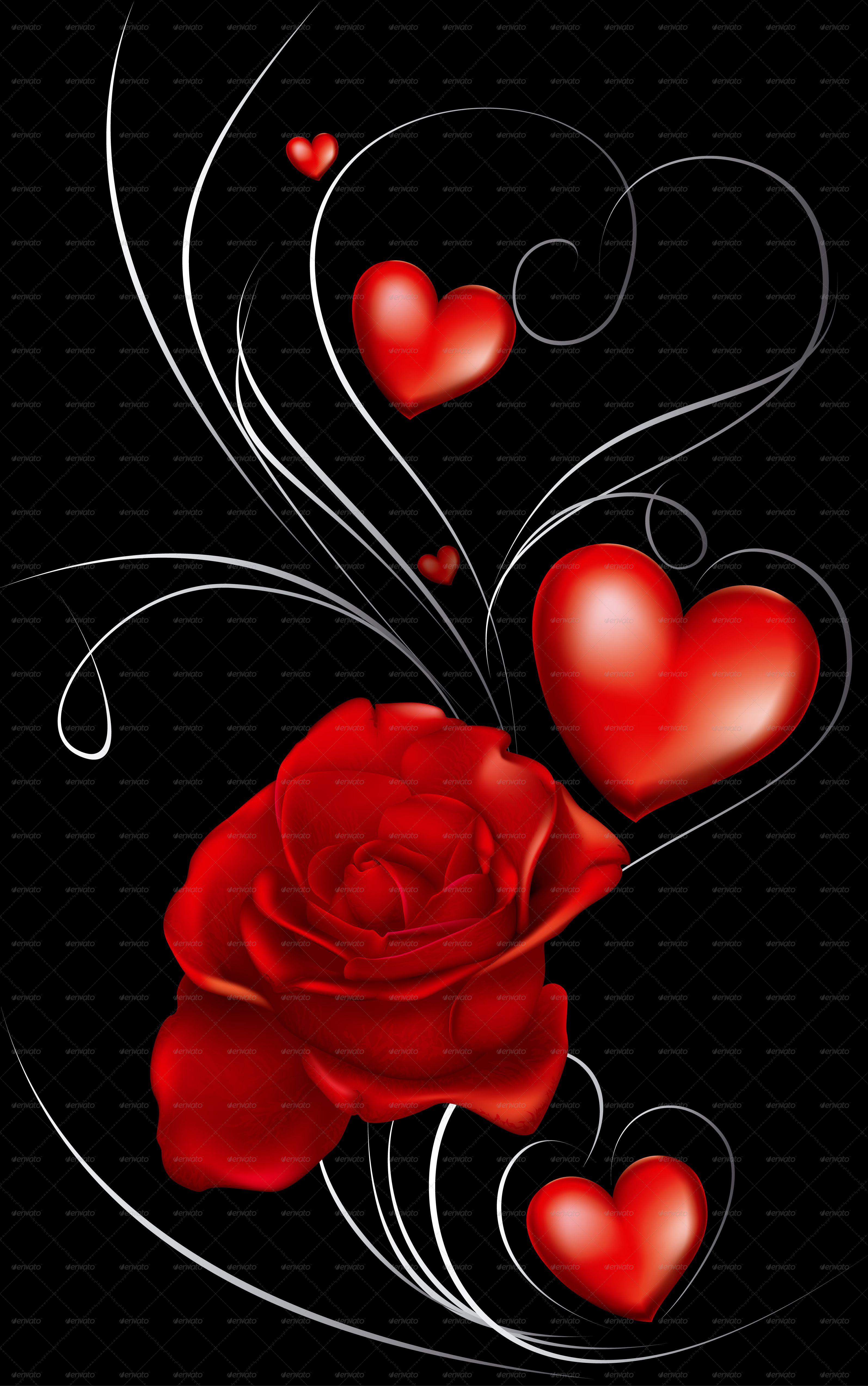 Dark Red Roses And Heart Dark Red Roses Red Roses Heart Wallpaper