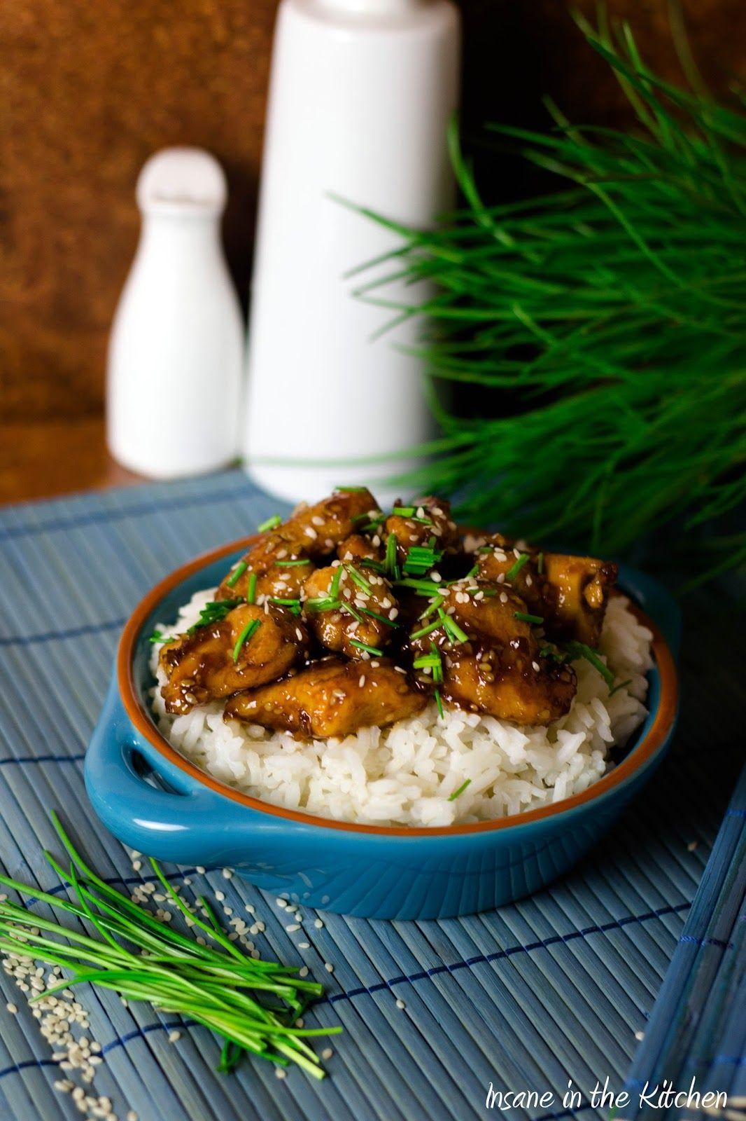 Honig-Sesam-Hühnchen -   25 fitness food rezepte ideas