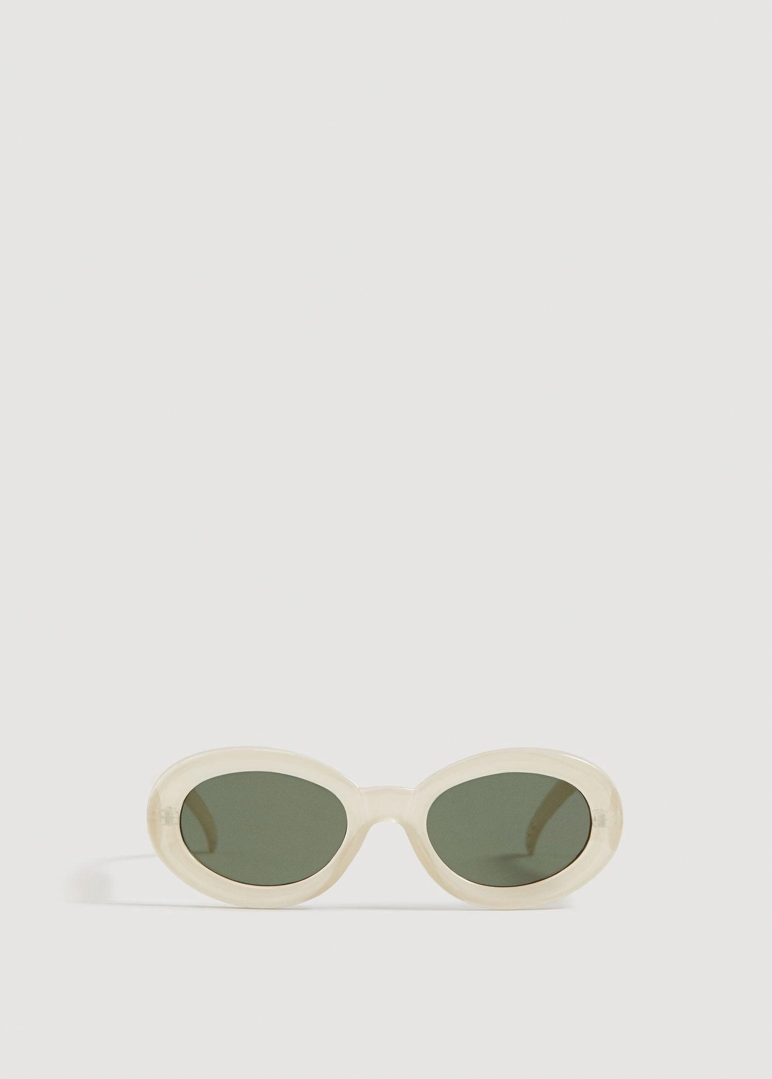 bcd04b70b2 Mango Acetate Frame Sunglasses - Beige One Size