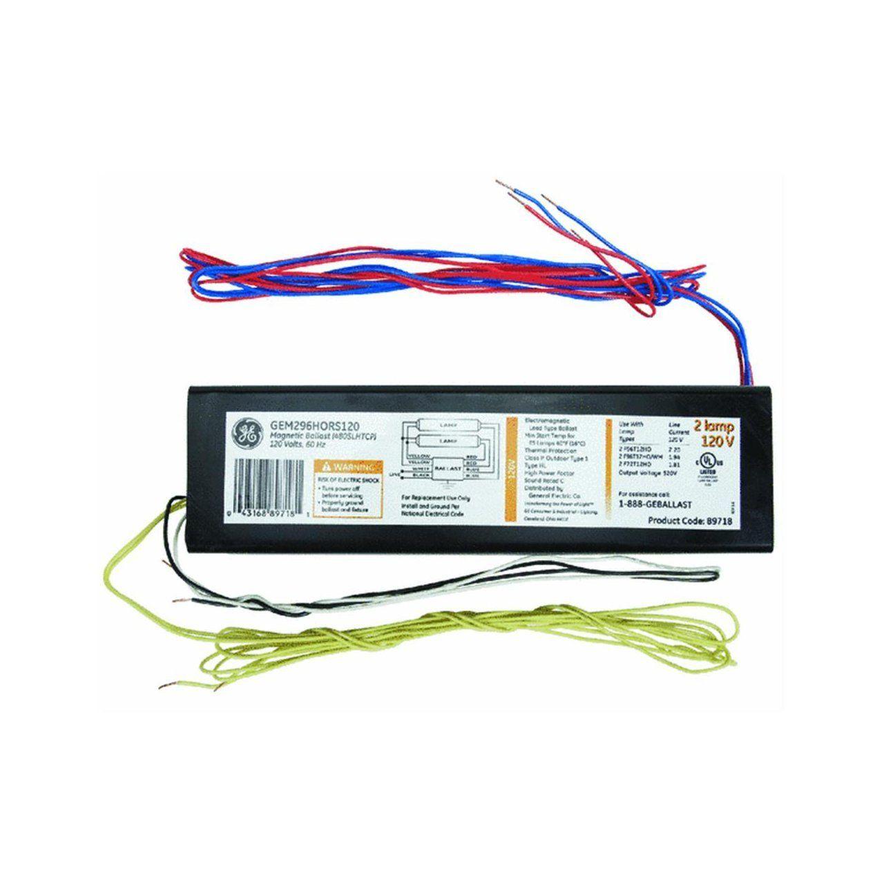 GE Lighting 72109 GE296HO-MV-N-DIY LFL Multi-Volt ProLine Electronic on