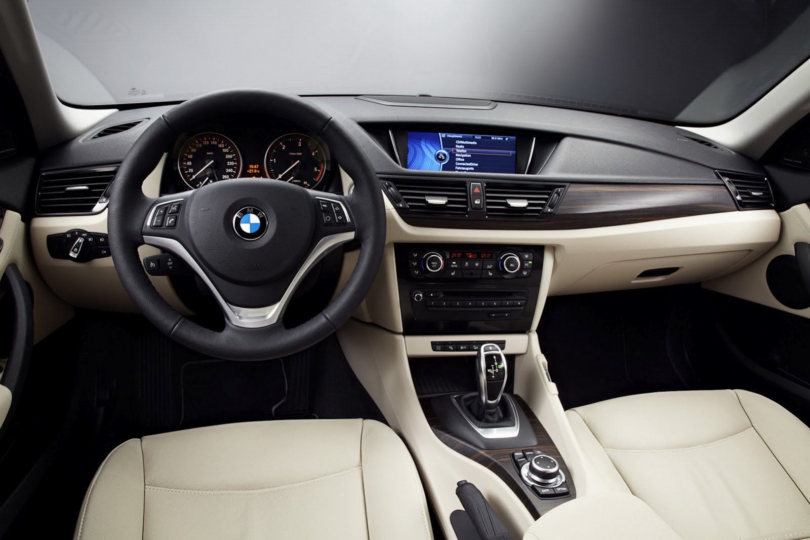 Bmw X1 Interior Black And Suede Clean And Perfect With The New