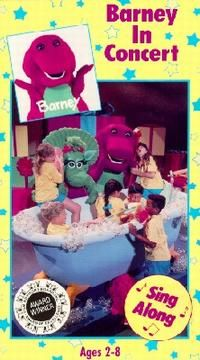 Barney & The Backyard Gang Barney In Concert barney collection: g + family, musical, adventure, fantasy, short
