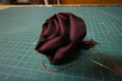 Paso 2 para hacer flores de tela