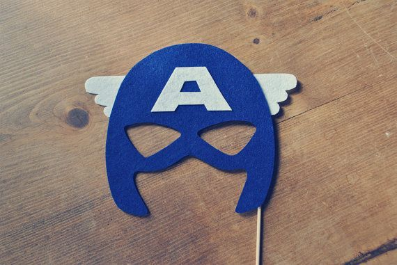 Mascara De Capitan America Buscar Con Google Captain America Party Captain America Birthday Party Marvel Party