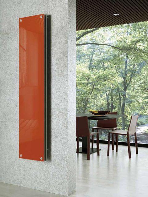 Dream Glas-Heizkörper, Glasheizkörper, heizkörper flach, designer ...