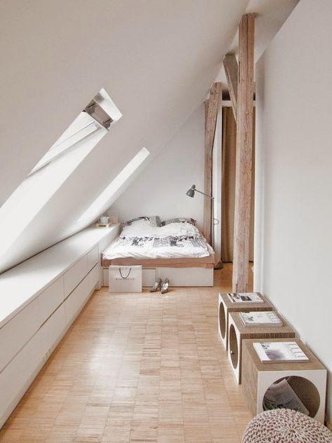 petite chambre sous les toits | CHAMBRE OU SUITE PARENTALE ...
