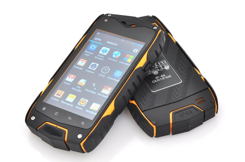 Rugged 4 Inch Android 4.2 Phone - Waterproof, Shockproof, Dust Proof, MTK6572 Dual Core CPU, 2500mAh Battery Capacity (Yellow) | http://www.chinavasion.com/china/wholesale/Android_Phones/Normal_Screen_Android_Phones/Rugged_4_Inch_Android_4.2_Phone_-_Waterproof_Shockproof_Dust_Proof_MTK6572_Dual_Core_CPU_2500mAh_Battery_Capacity_Yellow/