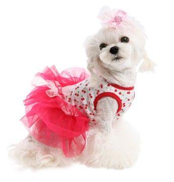 Adorable Cherry Tutu Dress