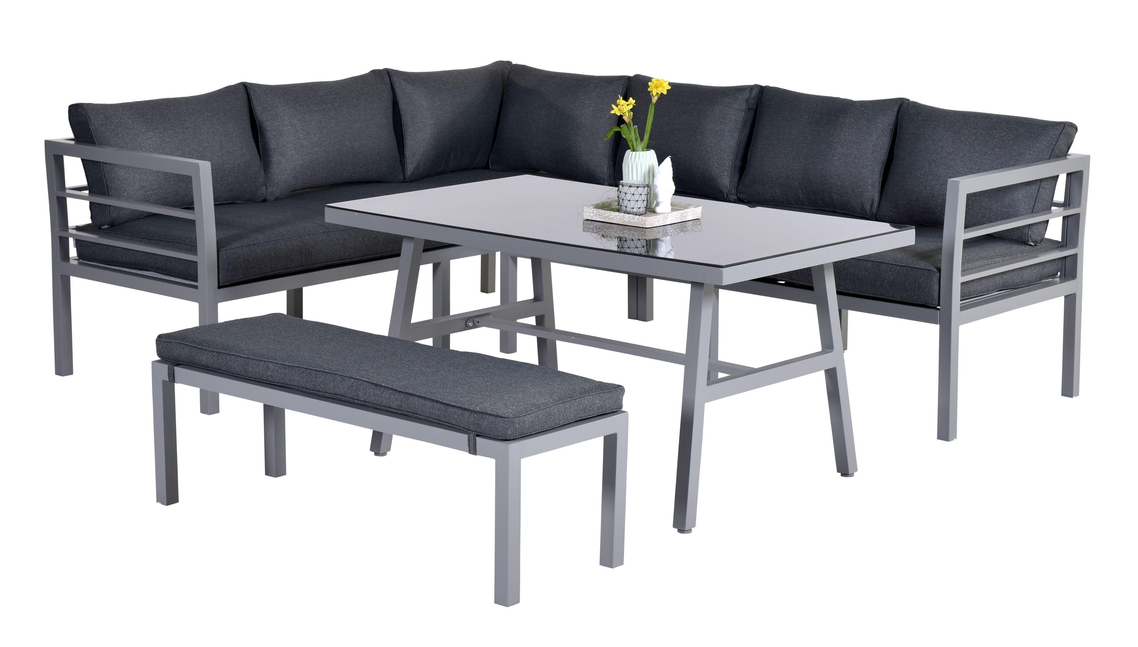Achtung Lieferzeit Aktuell Ca 5 Wochen Wir Erwarten Den Wareneingang In Der Ersten Maiwoche Aluminium Eck Lounge Mobel Lounge Gartenmobel Sitzgruppe