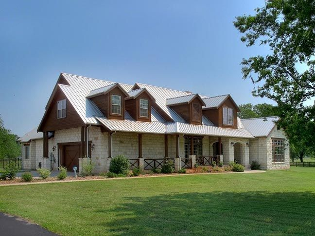 Texas style ranch house House Pinterest Texas Ranch and