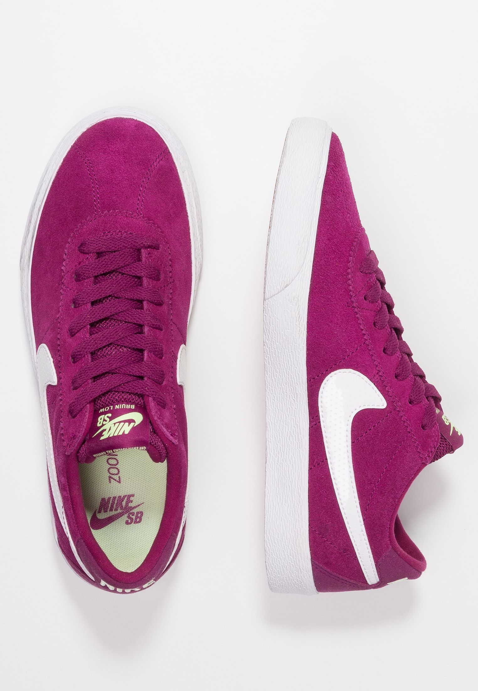 speical offer good quality cheap for sale Nike SB BRUIN - Trainers - true berry/yellow/barely volt ...
