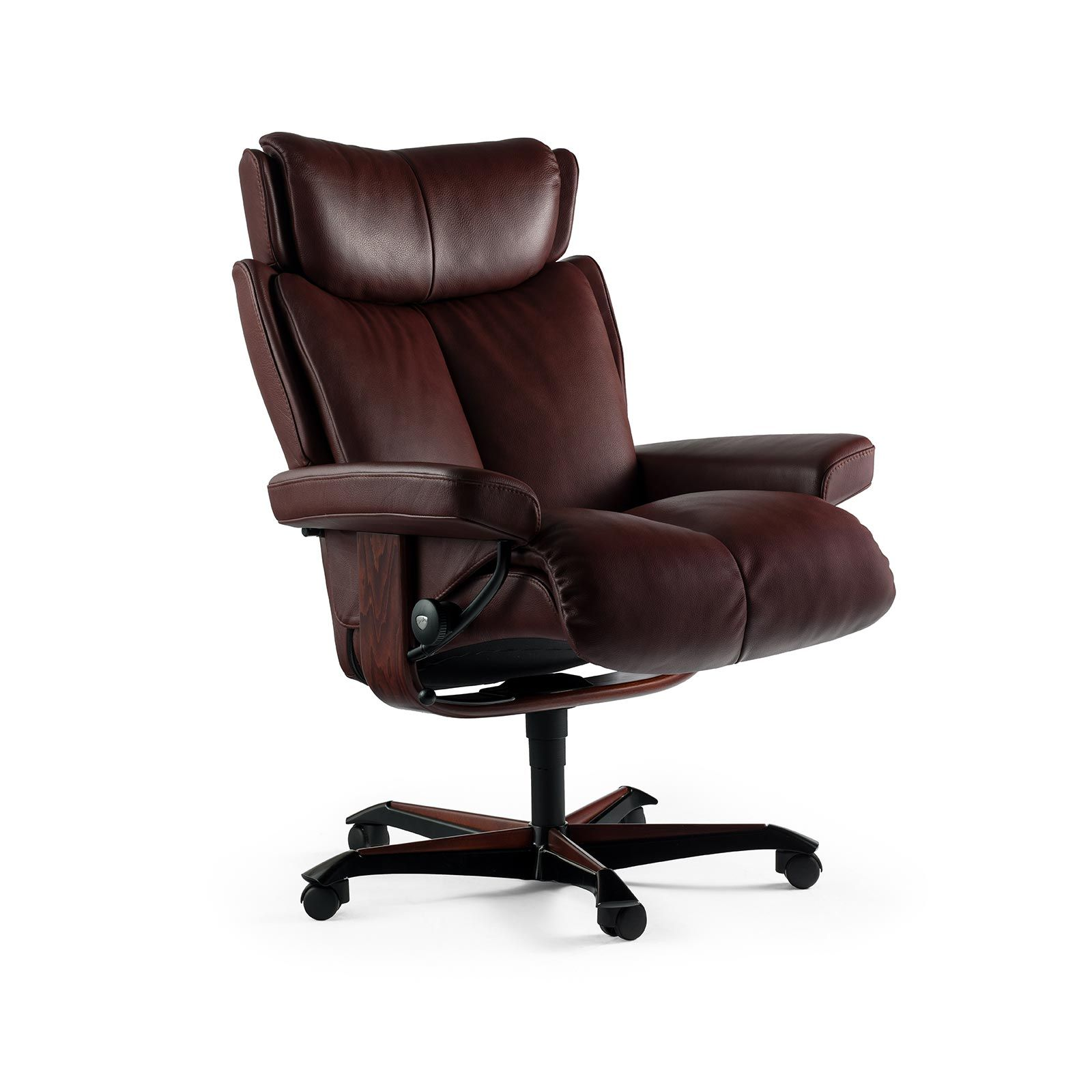 Stressless Sessel MAGIC Home Office Batick Burgundy