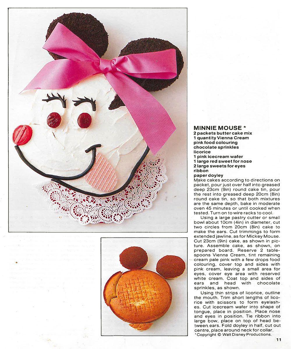 Witch Cake From The Australian Womens Weekly Cake Book My Mum - Womens weekly childrens birthday cake cookbook