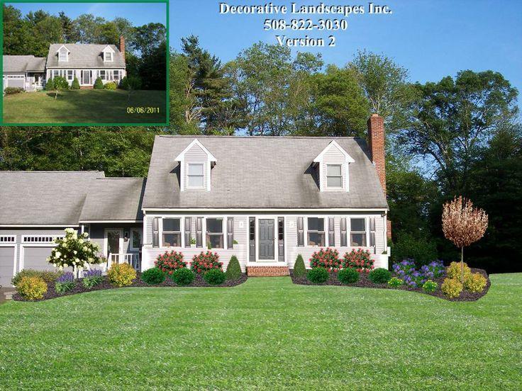 Front Of Home Landscape Designs Front Yard Landscaping Design Yard Landscaping Simple Yard Design
