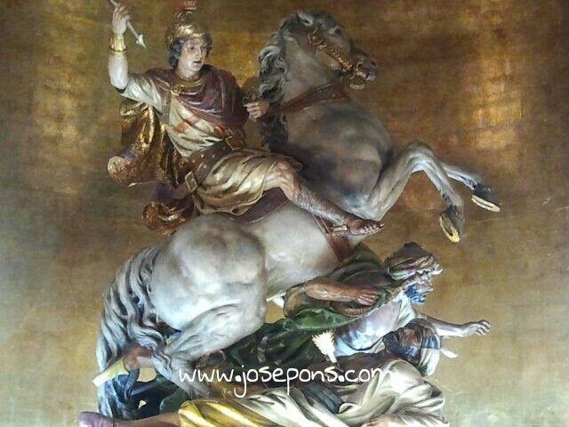 Imagen de San Jorge Martir Patron de Alcoy.