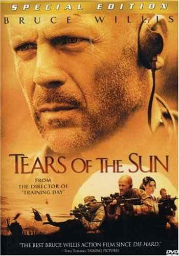 Tears of the Sun - (2003)  A soldier (Bruce Willis) is forced to choose between following orders and saving lives in Nigeria. Filmed in Hawaii