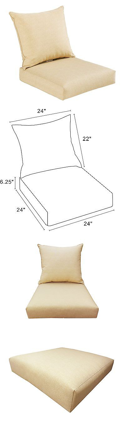cushions and pads 79683 bossima indoor outdoor cream beige yellow