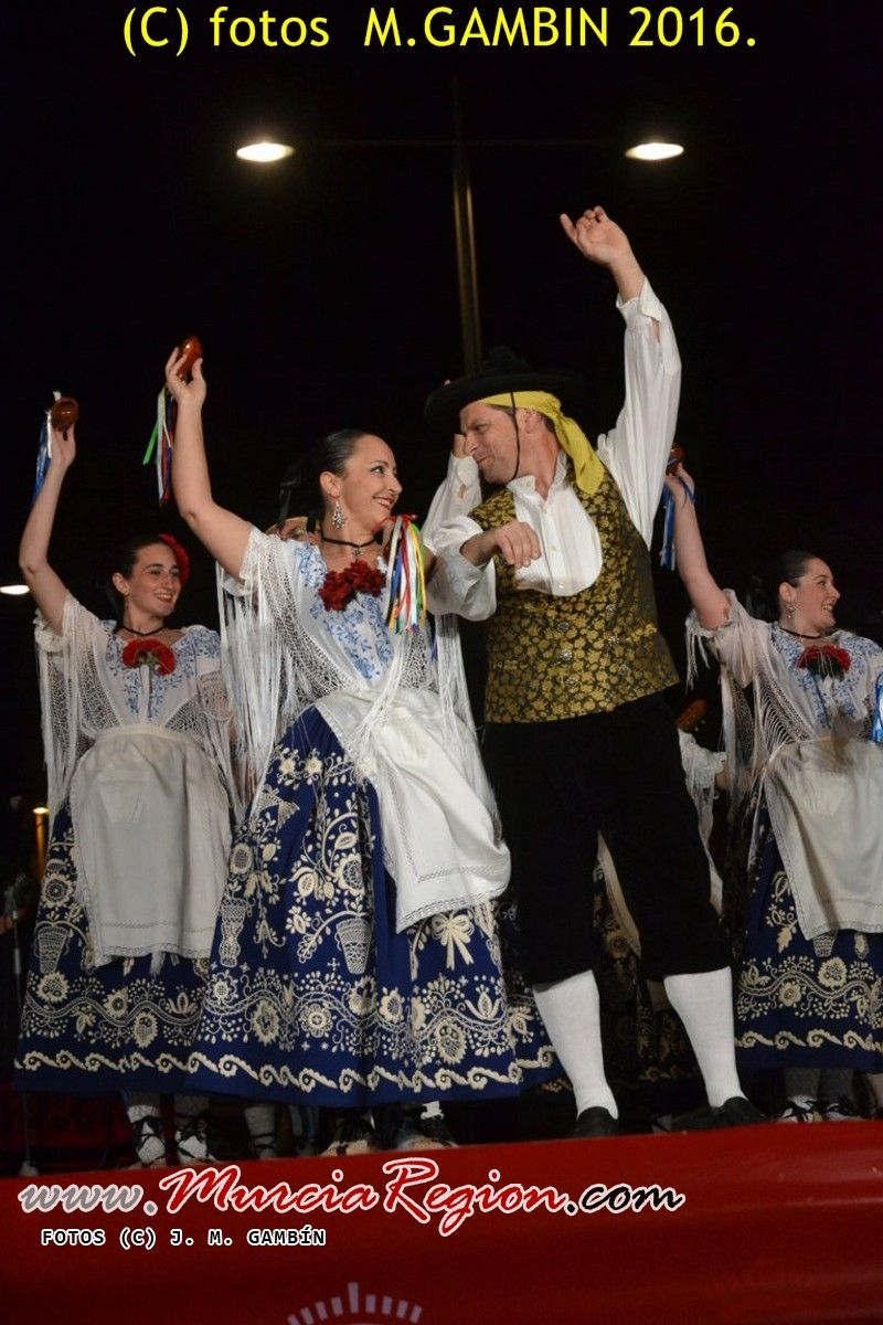 Indumentaria tradicional de Murcia.