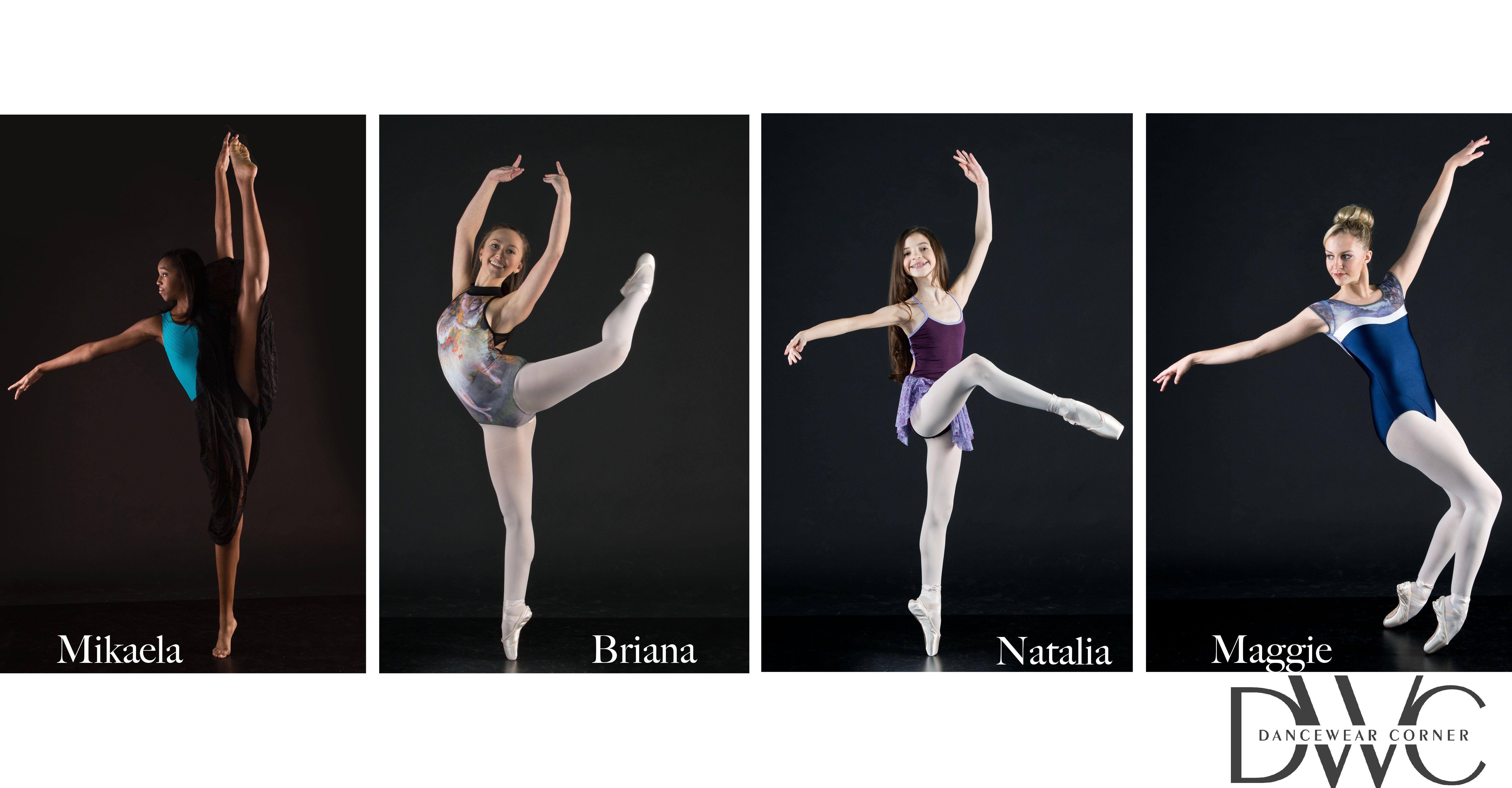 DanceWear Corner Model Dancers Dance Pose Jump