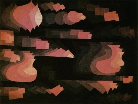 Paul Klee Fuge In Rot Paul Klee 2 Paul Klee Art