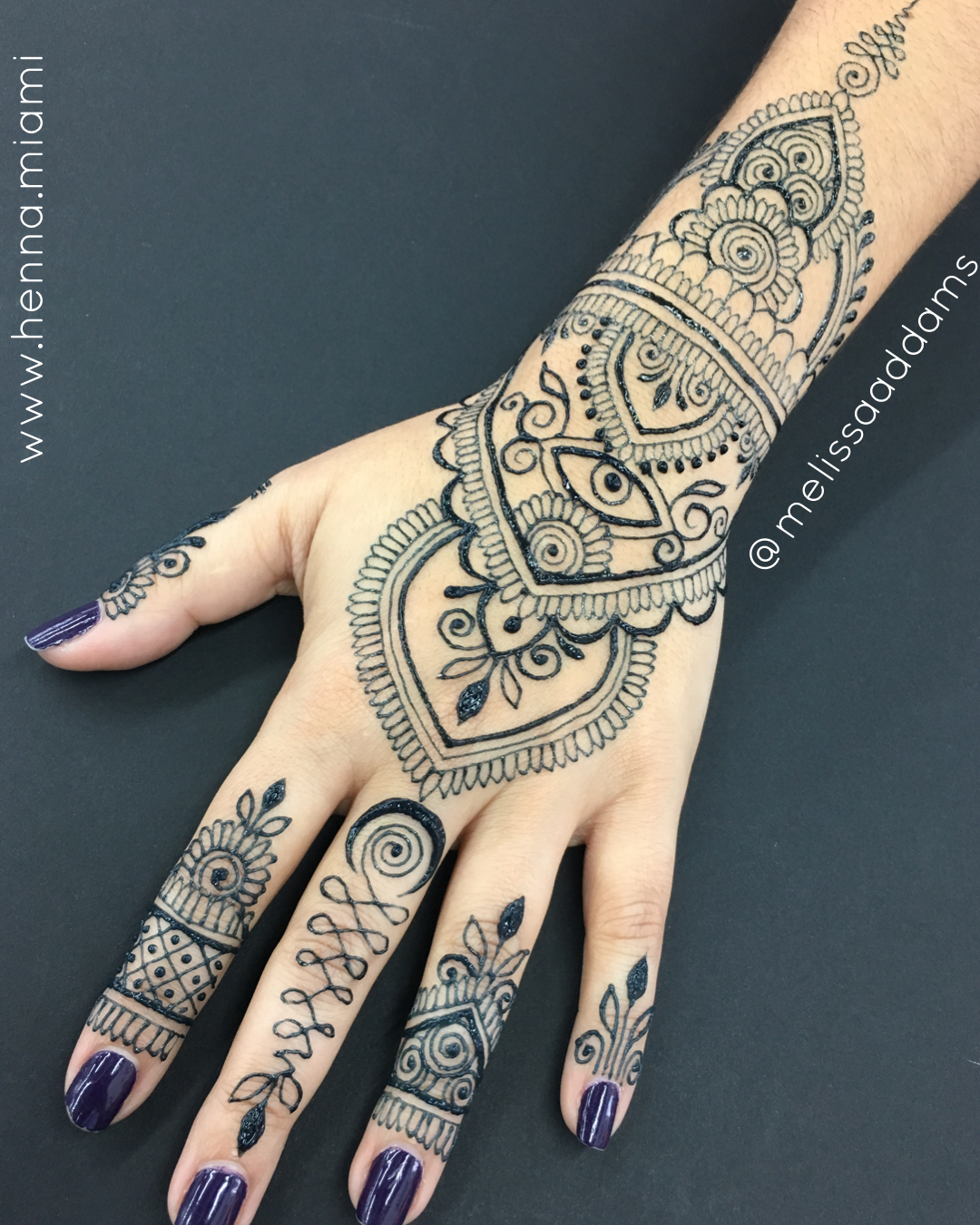Eye Flower Jagua Hand Design Henna Style Henna Inspiration Henna