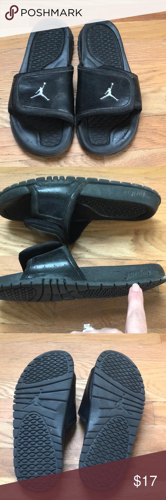 643176ac3442e Men s Jordan Sandals Jordan Slides Good Used Condition- some dings in the  soles (See pic) Make on Offer!! Jordan Shoes Sandals   Flip-Flops