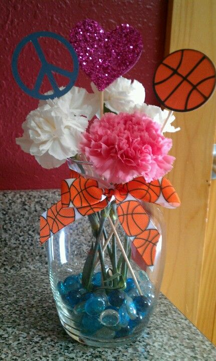 Pin By Bickimer Homes On Model Homes: Centerpiece For Cheer Banquet? Peace, Love, And Megaphone
