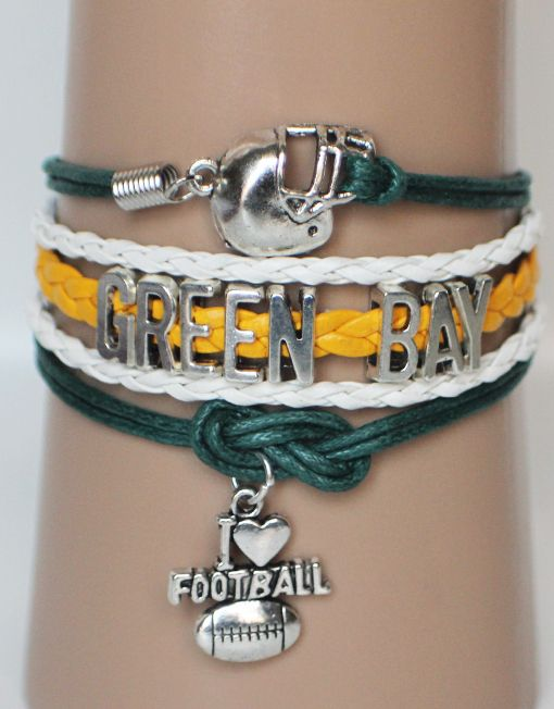 Green Bay Packers Bracelet Get 3 Free 15 00 Modwraps At Www Gomodestly