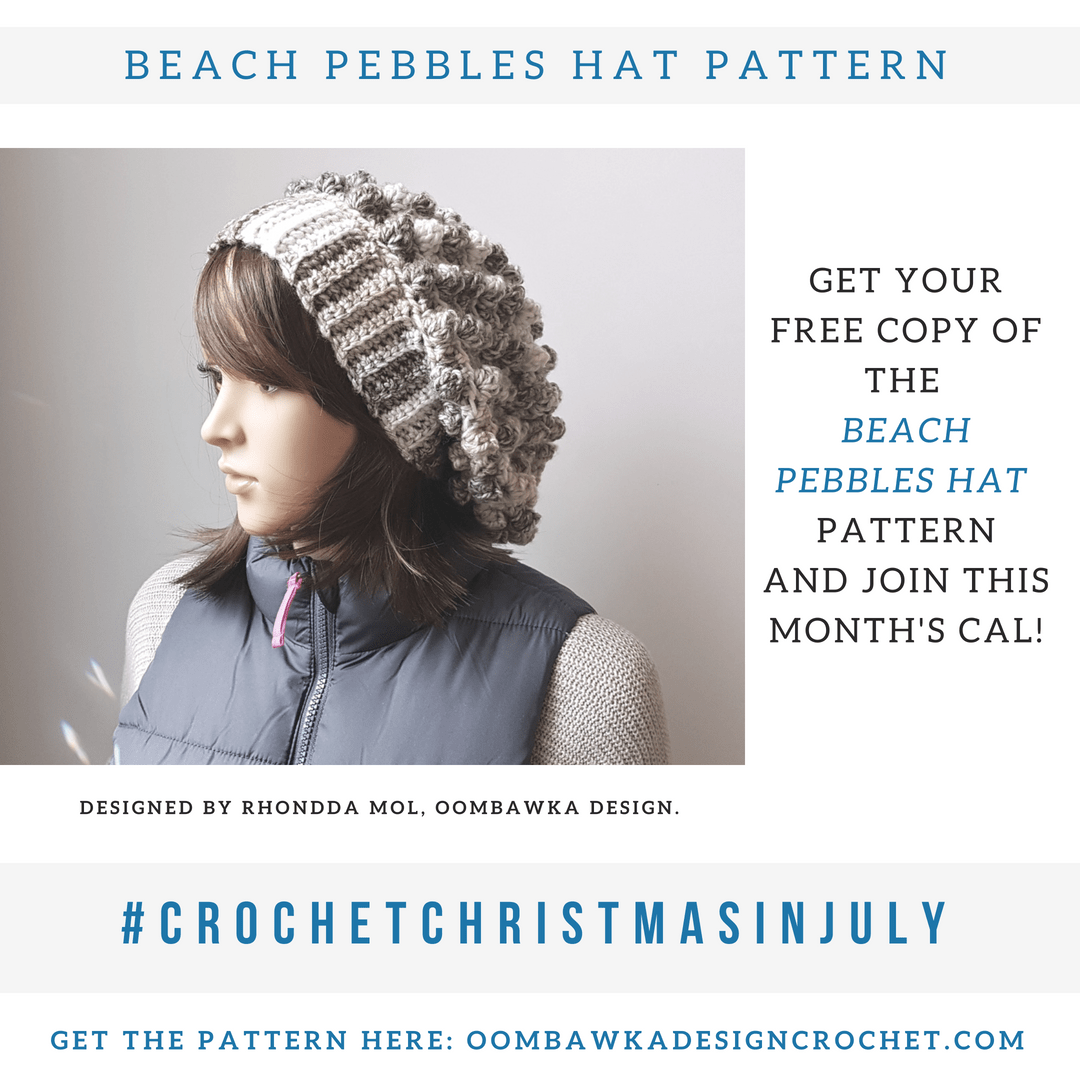 Beach Pebbles Hat Pattern | Crochet Patterns | Pinterest