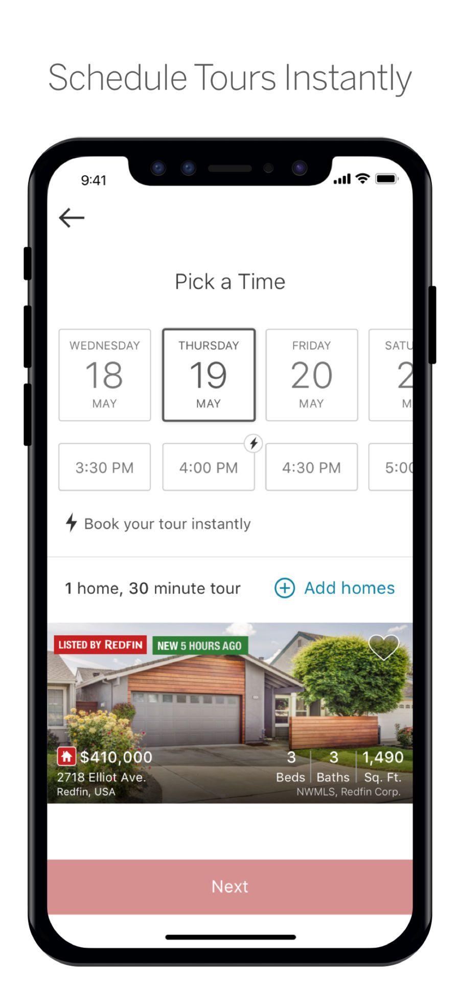 Redfin Real Estate Ios Business App Apps Html Design Pinterest