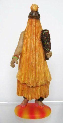 Small Statue for San Lazaro Arara - Santeria Oricha Orisha Babalu #Babaluaiye 6 inches only $6.90
