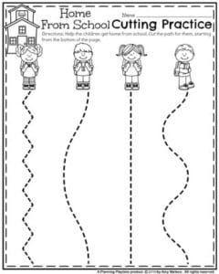 Back to School Preschool Worksheets   Preschool Printables ...