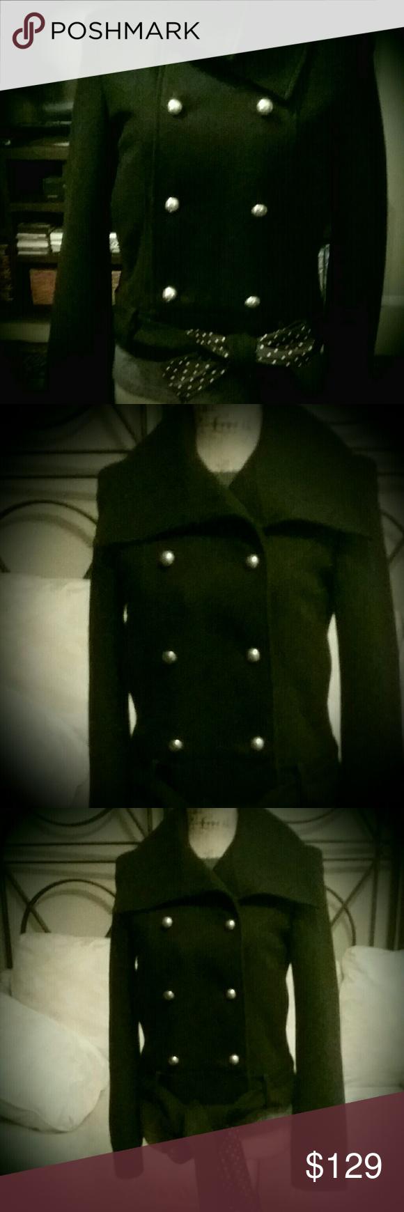 Bcbgeneration long varsity jacket