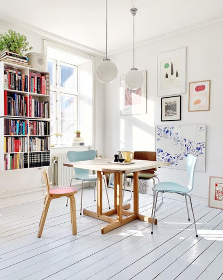 A Dreamy Copenhagen Home Full of Books, Art and Danish