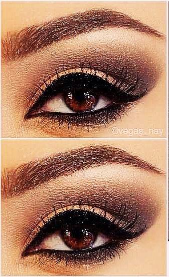 Eye make up for brown eyes (naked 2 palate)