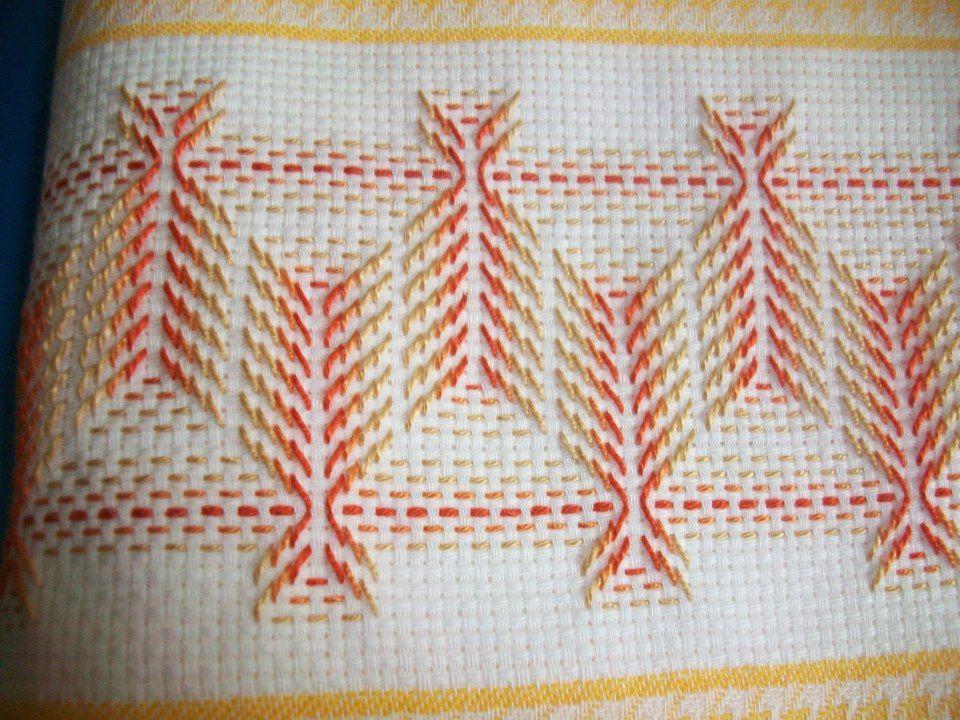 Swedish Weaving Pattern Crafting Pinterest Embroidery Weaving