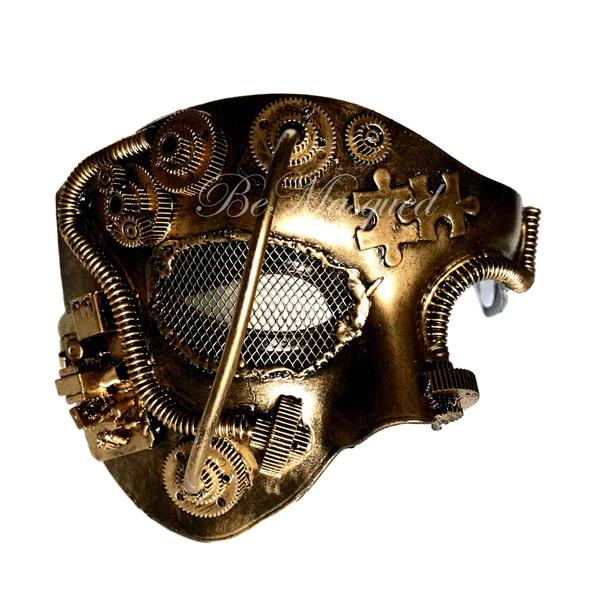 Steampunk Phantom Of The Opera Mask Opera Mask Phantom Of The Opera Steampunk