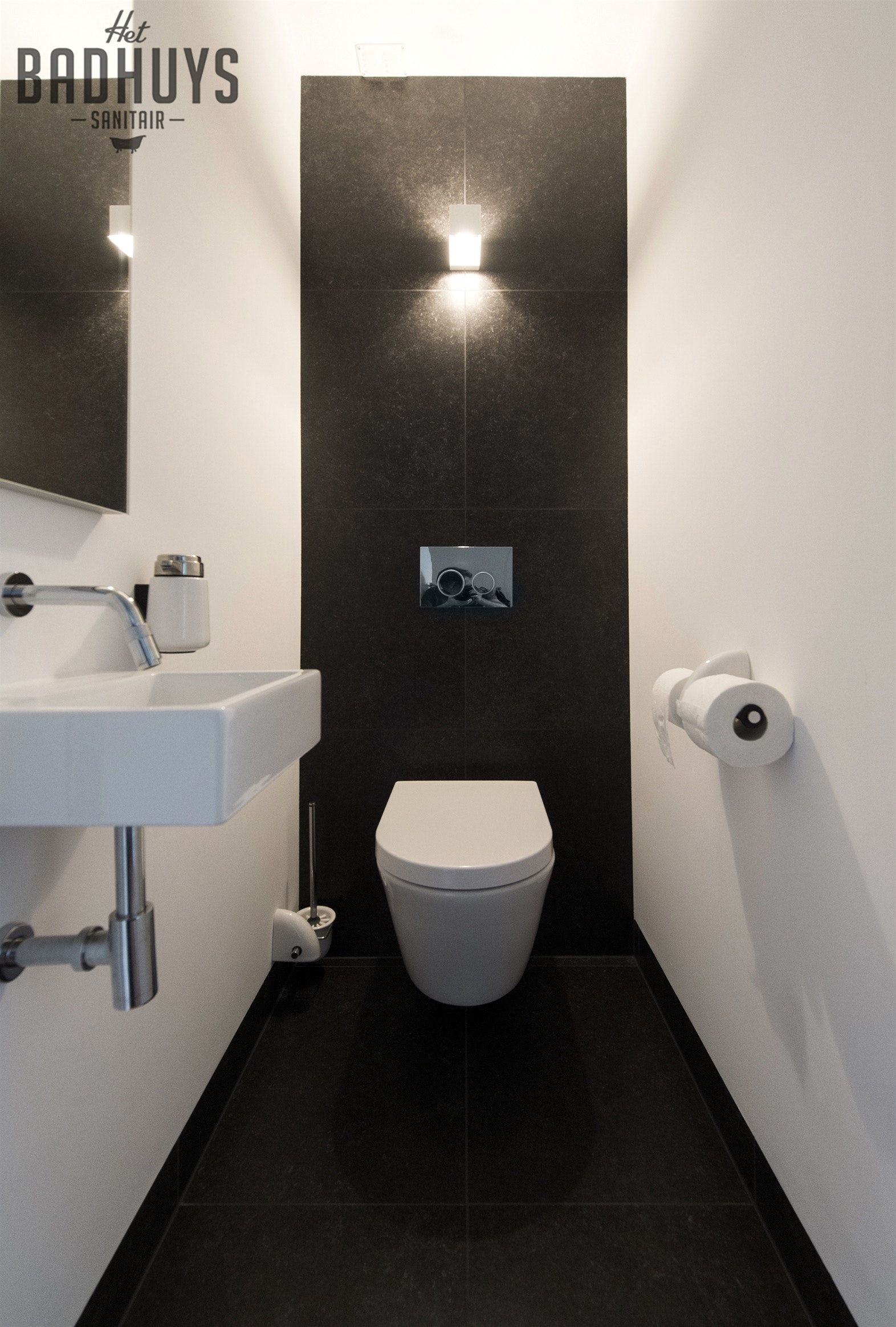 image result for decorer une mini toilette home bathroom pinterest casa de banho lavabo. Black Bedroom Furniture Sets. Home Design Ideas