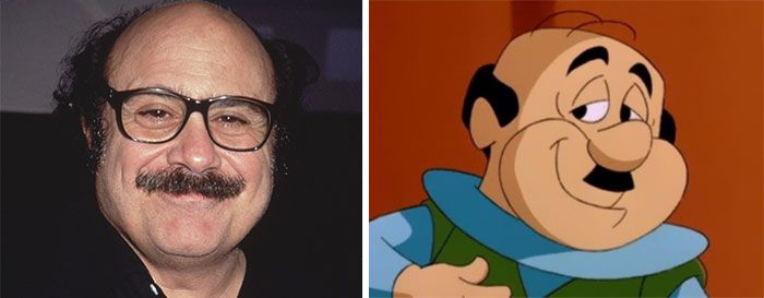 Danny DeVito Looks Like Mister Spacely Danny Devito - People cartoon look alikes