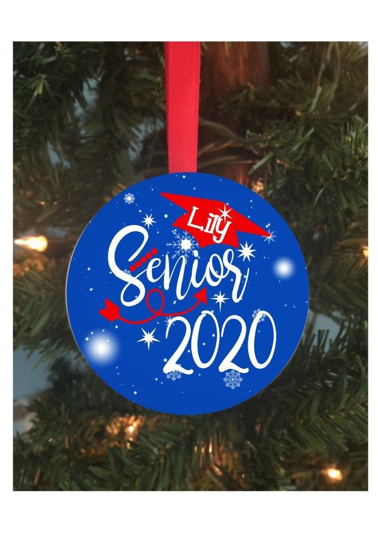 Personalized Senior 2020 Christmas Ornament, Graduation