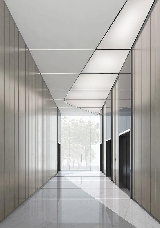 Hangzhou Xintiandi Office Towers: | Office interior design ...