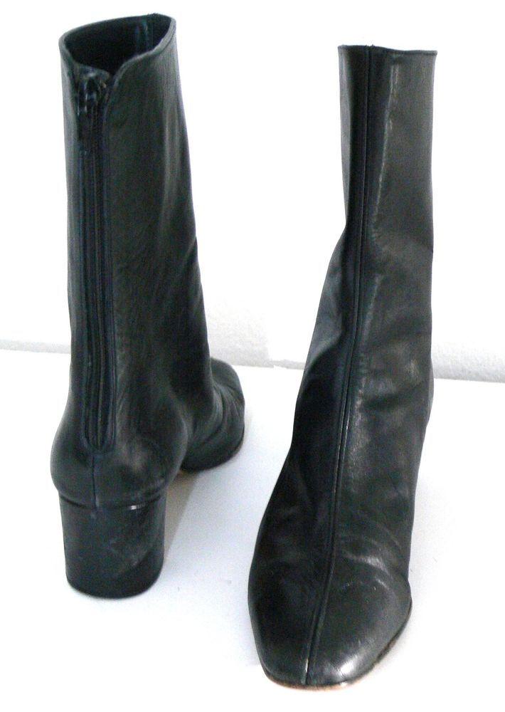 Bandolino Leather Ankle Boots Back