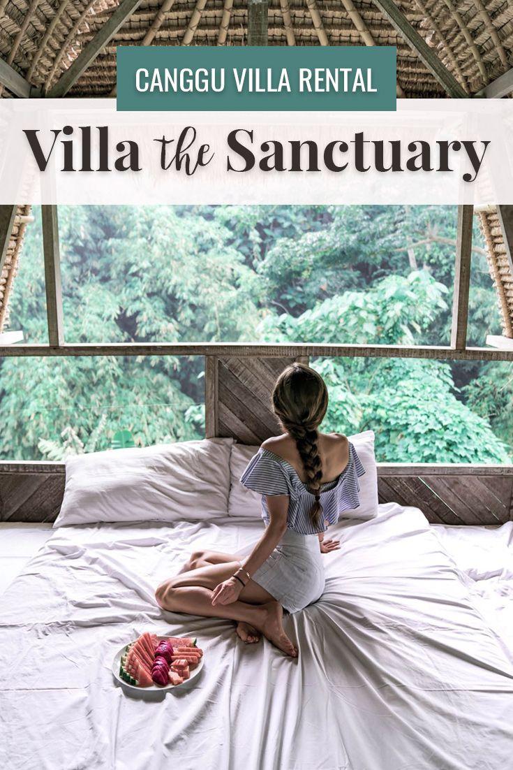 Canggu Villa Rental Staying at Villa the Sanctuary Bali