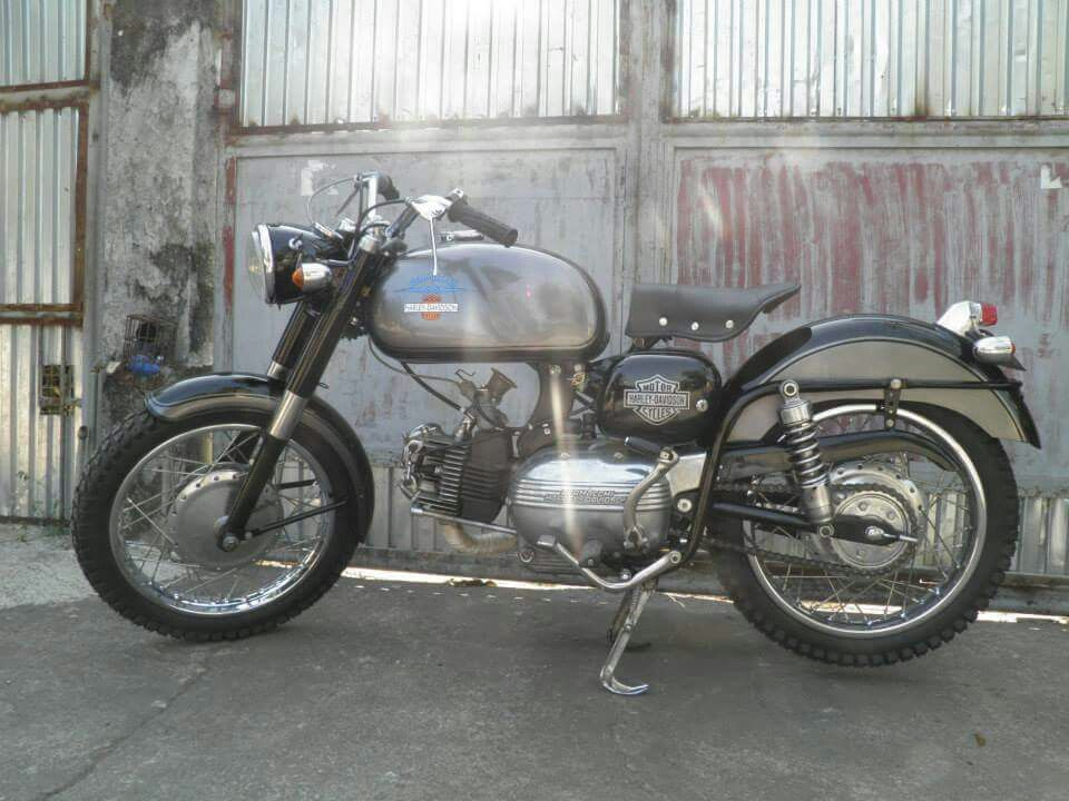 1961 Aermacchi Harley Davidson Restored And Functional One Of The Three Known Running In The Philippines A Winner I Cafe Racer Harley Davidson Sportster
