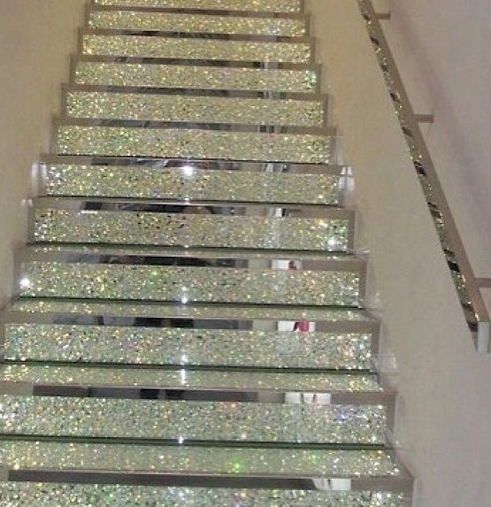 Diamond Staircase - REALLY! | Bedazzle Me! | Pinterest ...