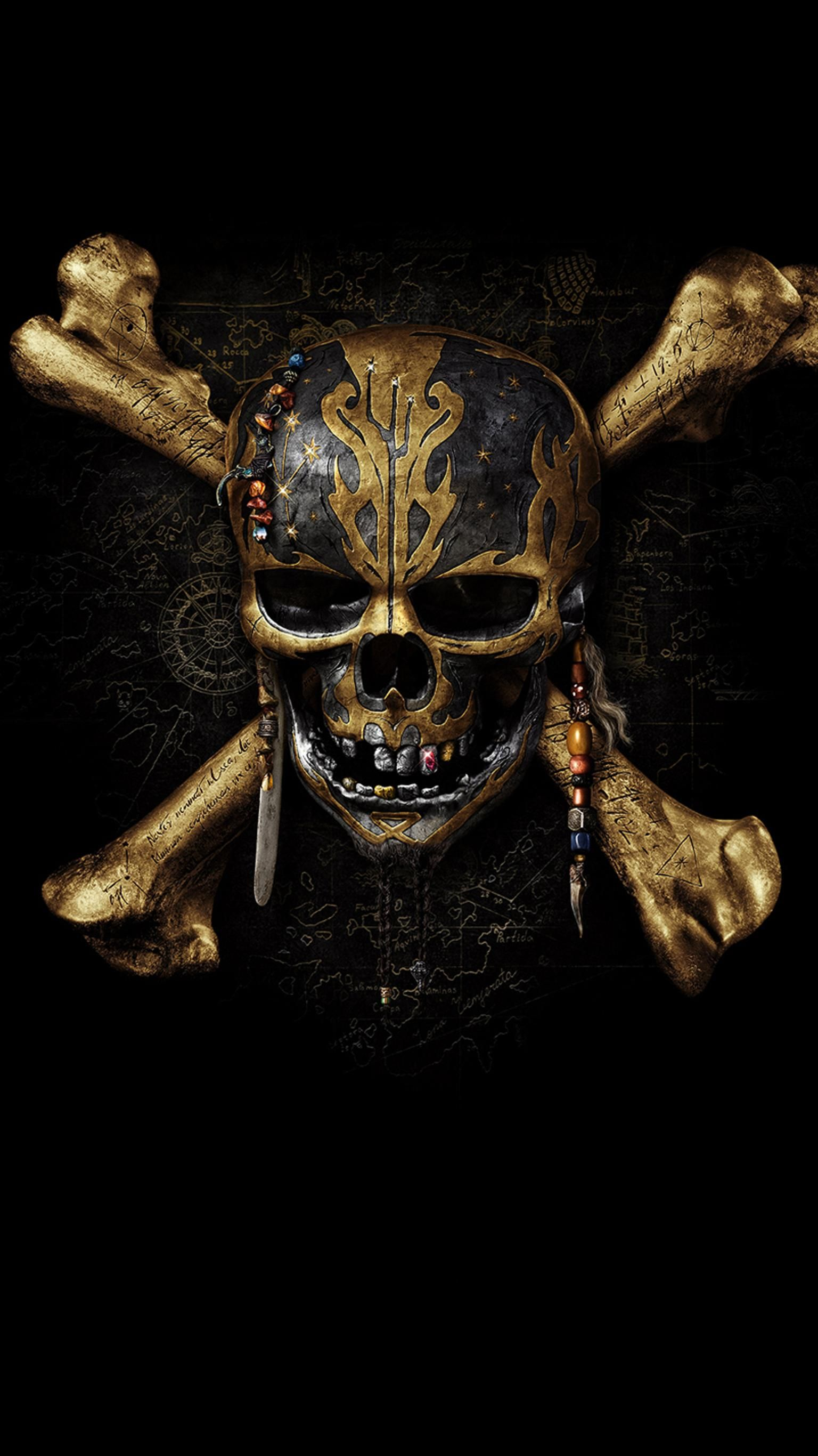 Pirates of the caribbean dead men tell no tales 2017 - Caribbean iphone wallpaper ...