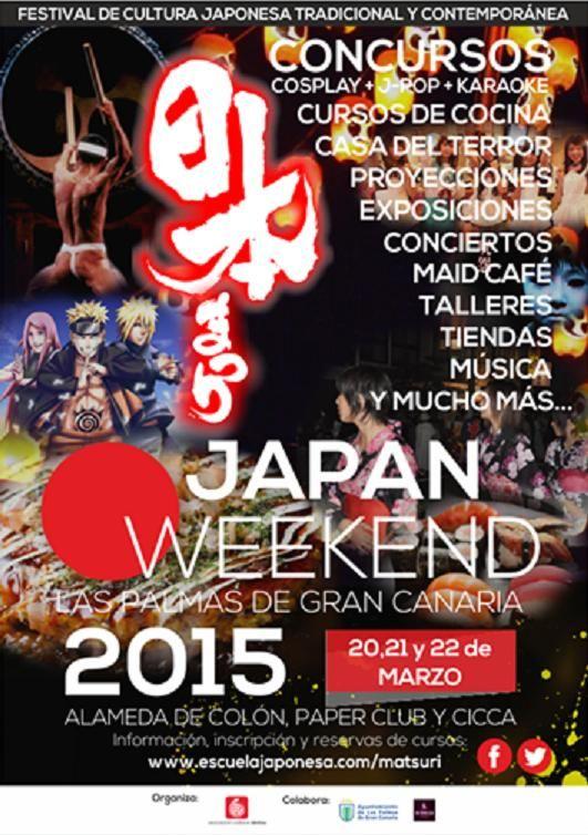 Japan Weekend Las Palmas De Gran Canaria 2015 Carteles De Eventos Las Palmas De Gran Canaria Cursillo
