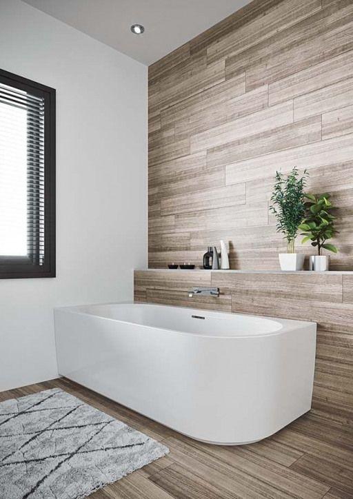 Un bain autoportant convient à chaque salle de bain  intérieur Scandinave